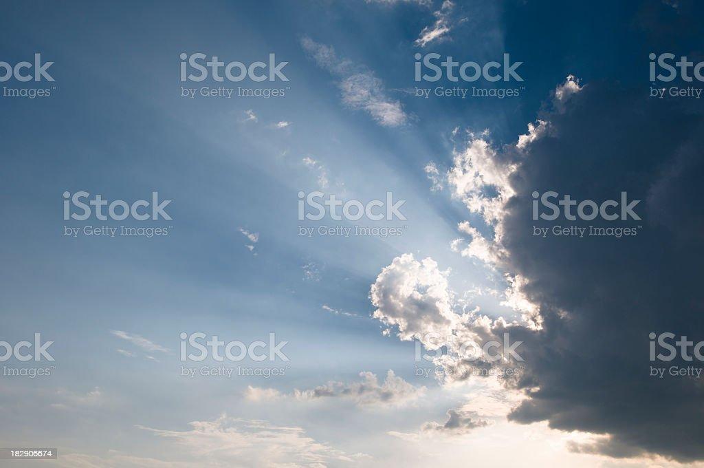 Sun rays series royalty-free stock photo