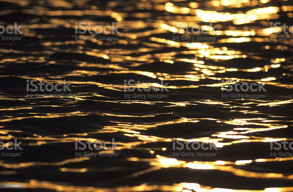 Sun Reflection royalty-free stock photo