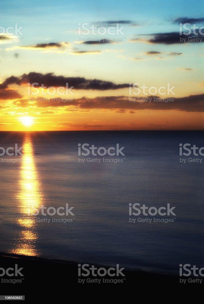 sun rise royalty-free stock photo