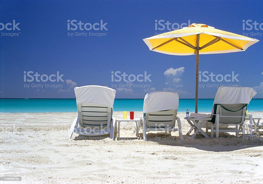 Sun Sand Sea royalty-free stock photo