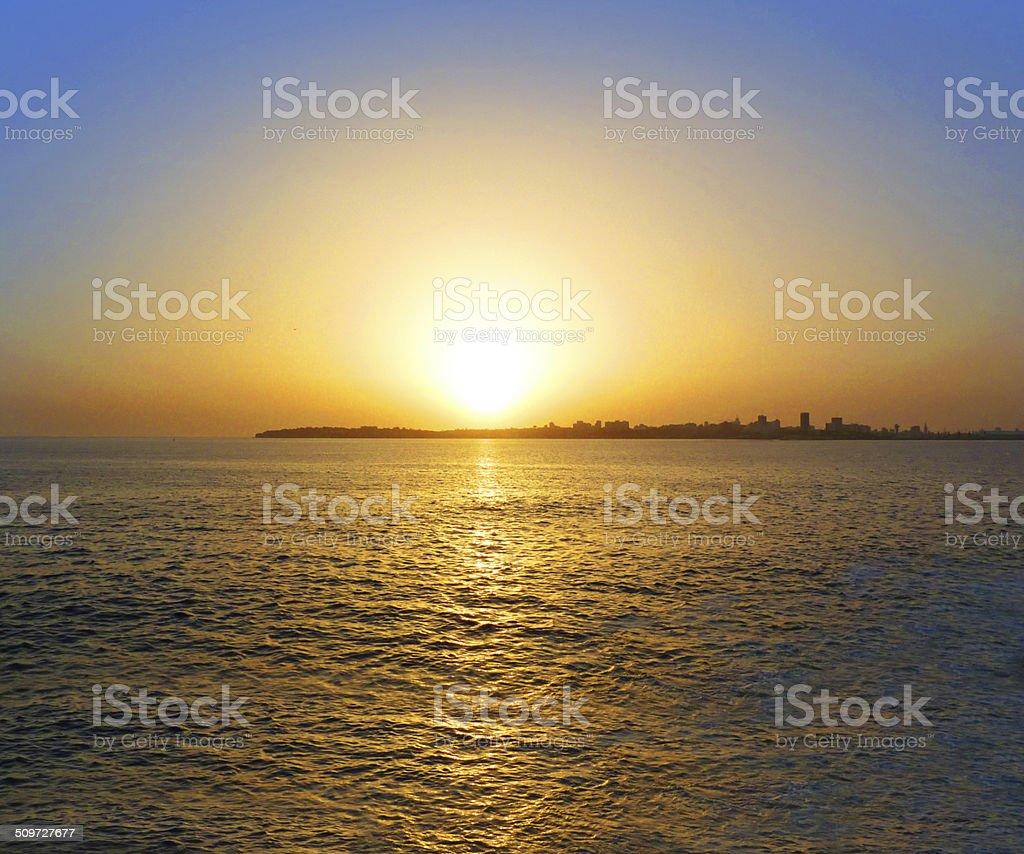 Sun Sea stock photo