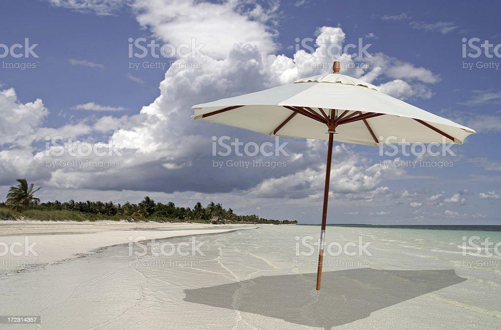 Sun, Sea, Shade royalty-free stock photo