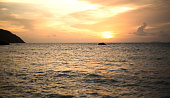 sun set  beach  nature, white sand,