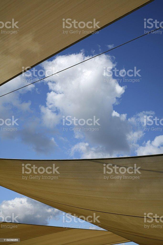 Sun shades stock photo