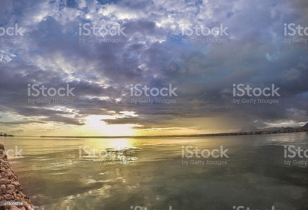 Sole luce foto stock royalty-free