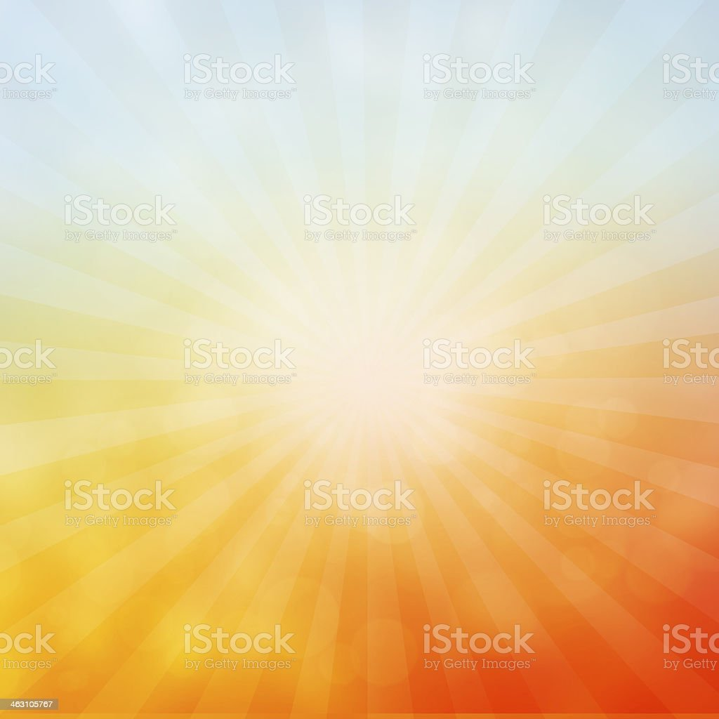 Sun sunburst pattern. stock photo