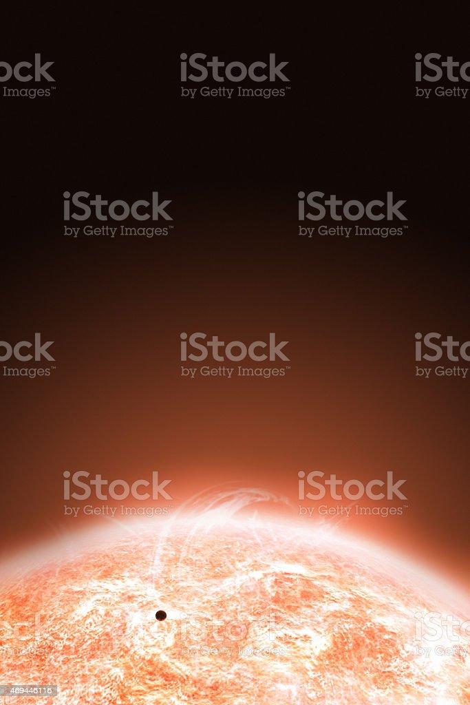 Sun Surface stock photo