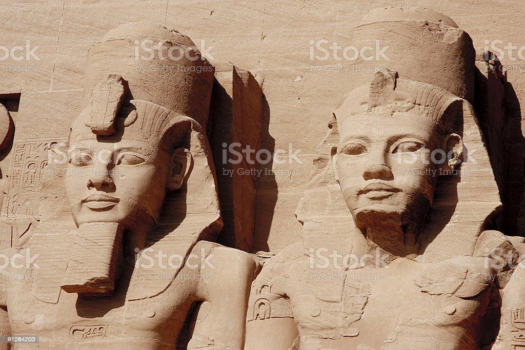 Sun Temples of Abu Simbel royalty-free stock photo