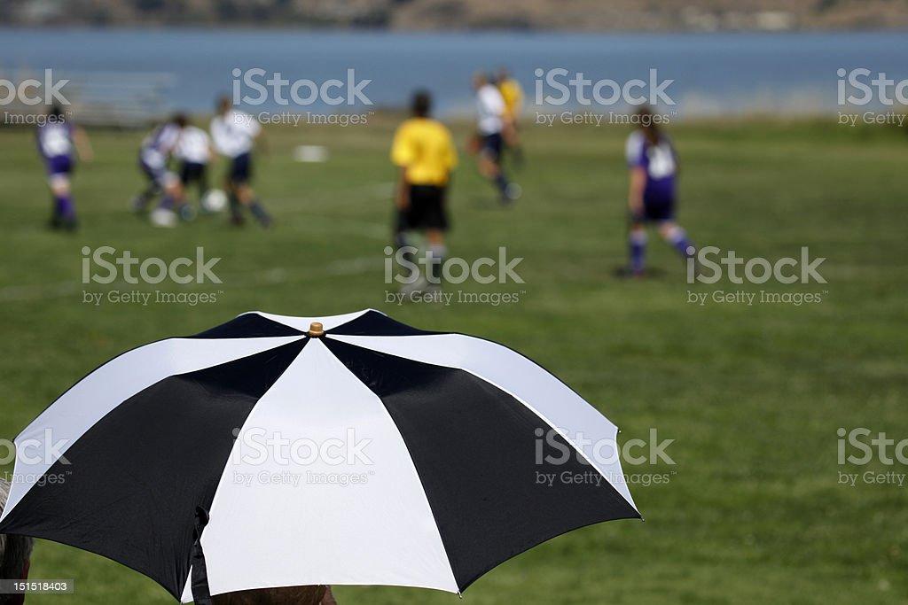 Sun Umbrella stock photo