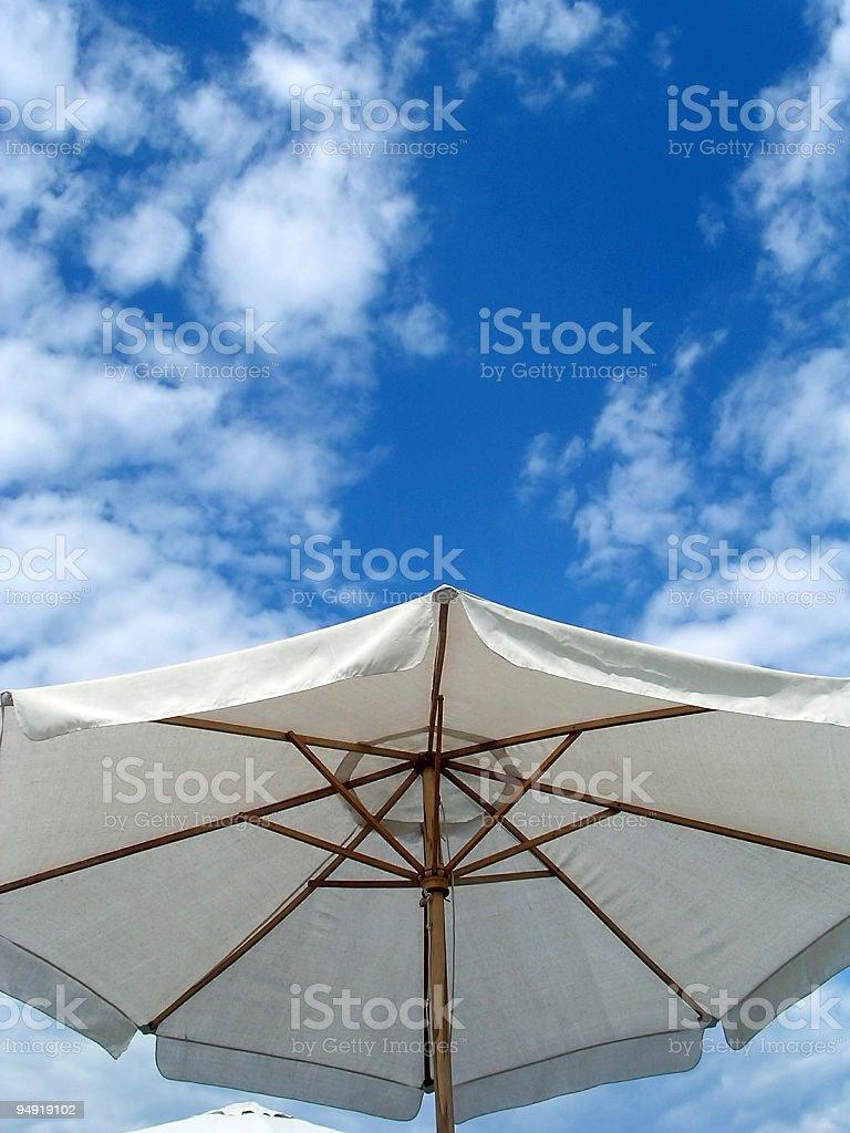 Sun umbrella royalty-free stock photo