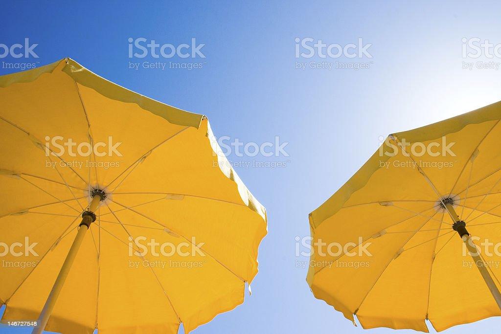 Sun Umbrellas royalty-free stock photo