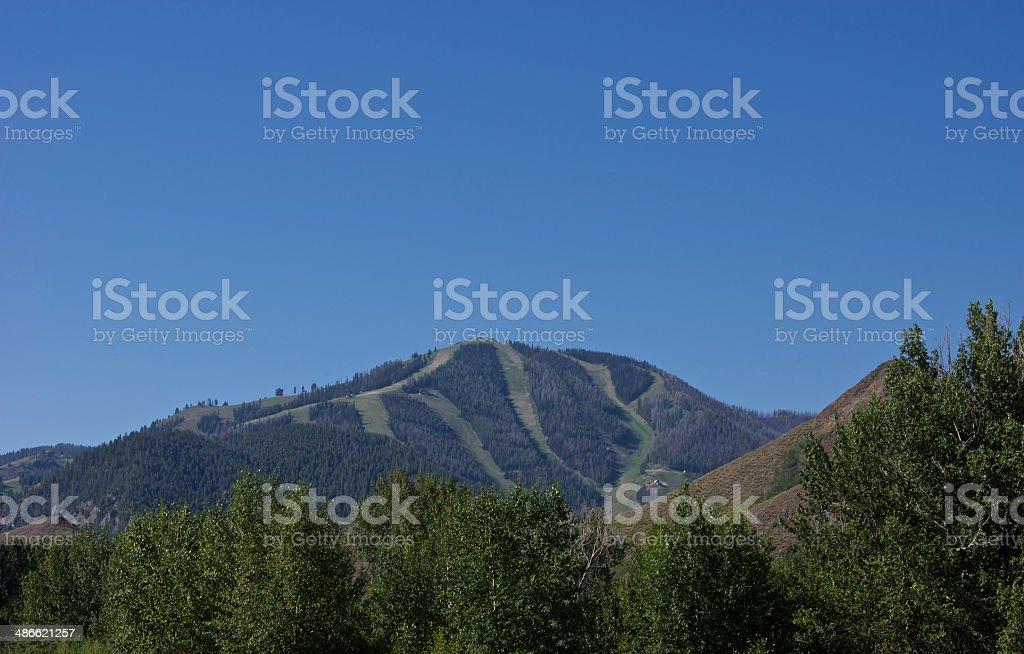 Sun Valley Clear Air stock photo