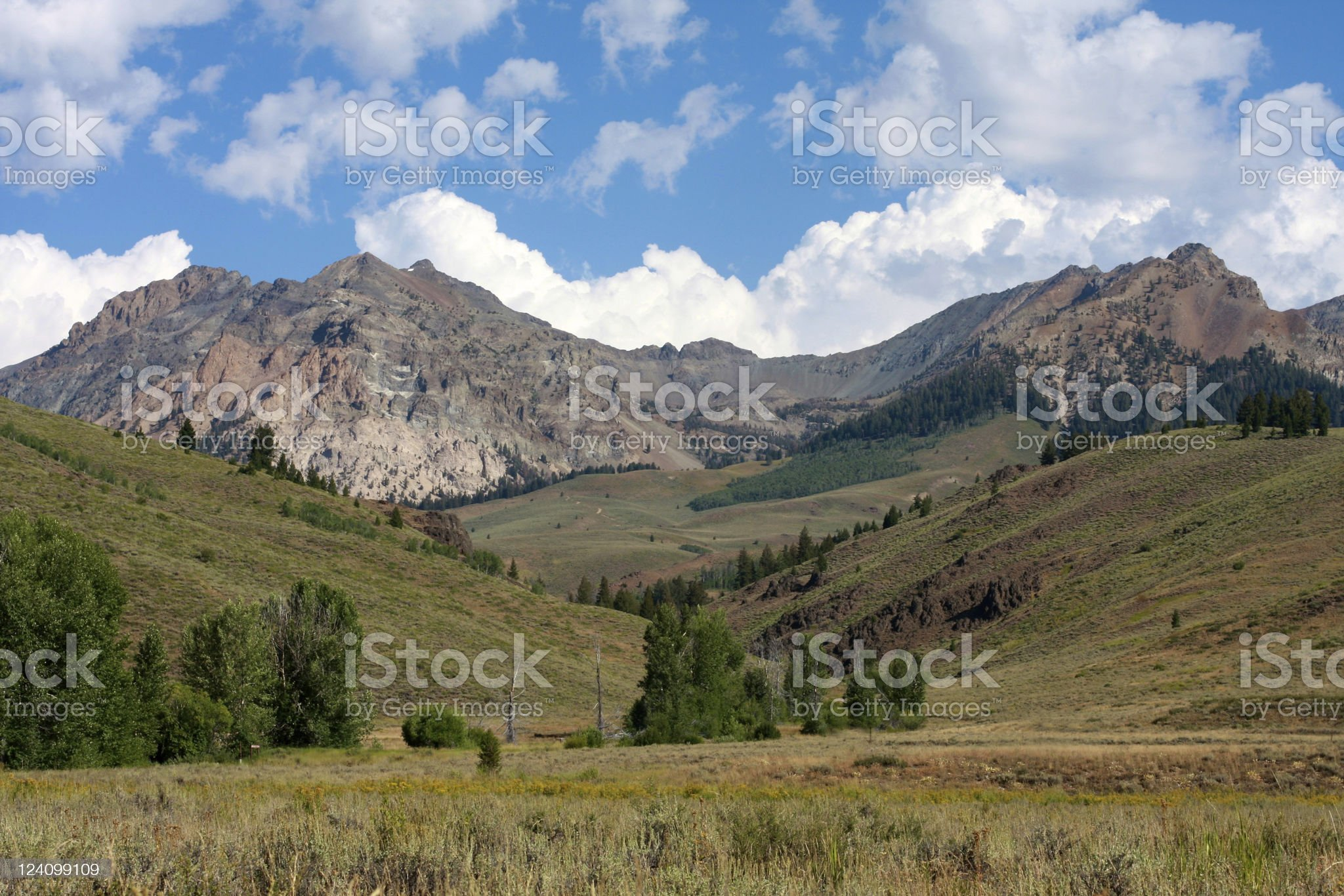 Sun Valley, Idaho royalty-free stock photo