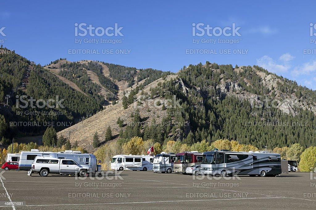 Sun Valley Idaho royalty-free stock photo