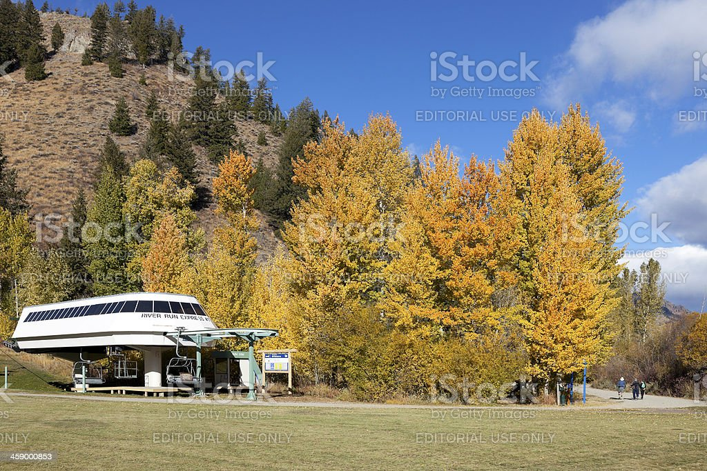 Sun Valley Idaho stock photo