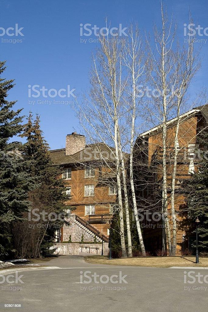 Sun Valley Lodge2 stock photo
