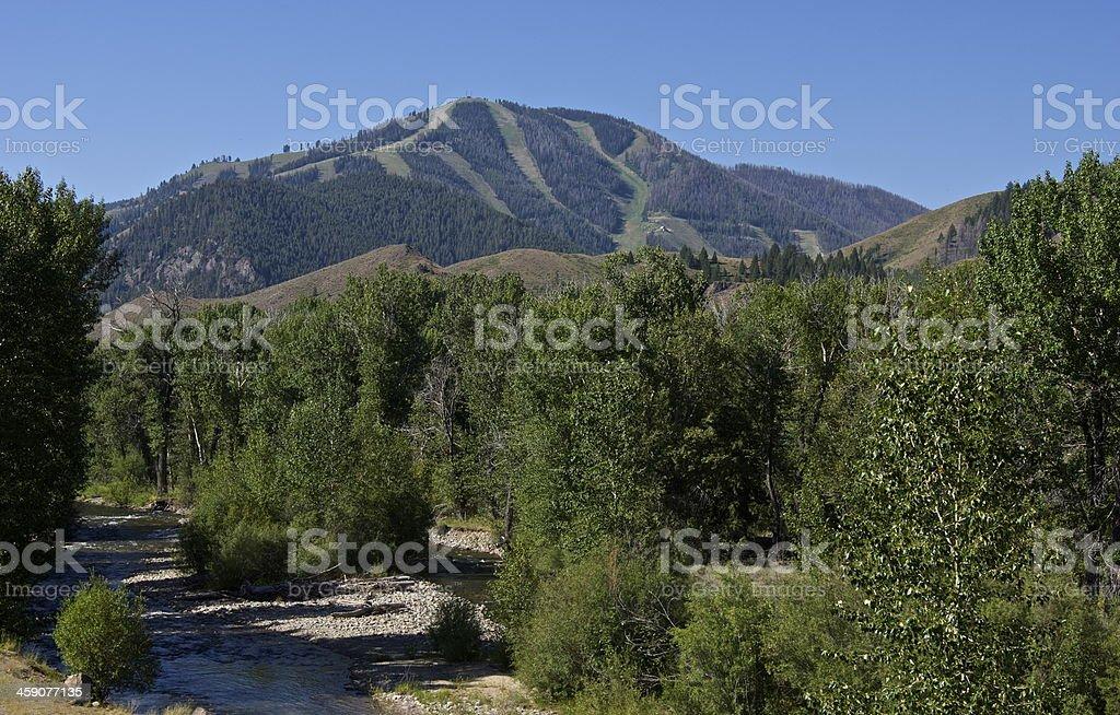 Sun Valley stock photo