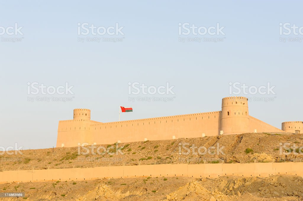 Sunaysila Fort royalty-free stock photo