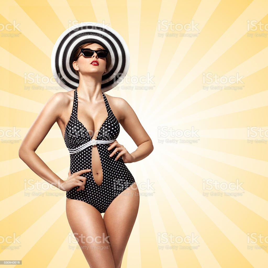 Sunbathing. stock photo