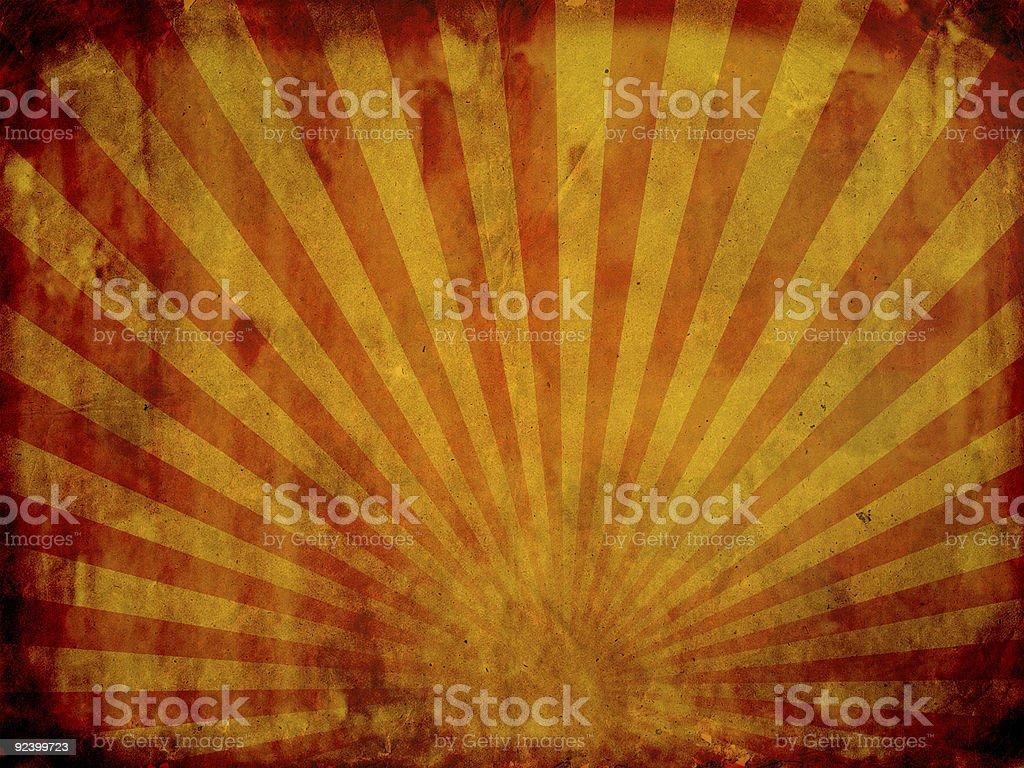 Sunbeam on grunge background royalty-free stock photo