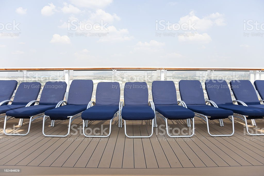 Sunbed. royalty-free stock photo