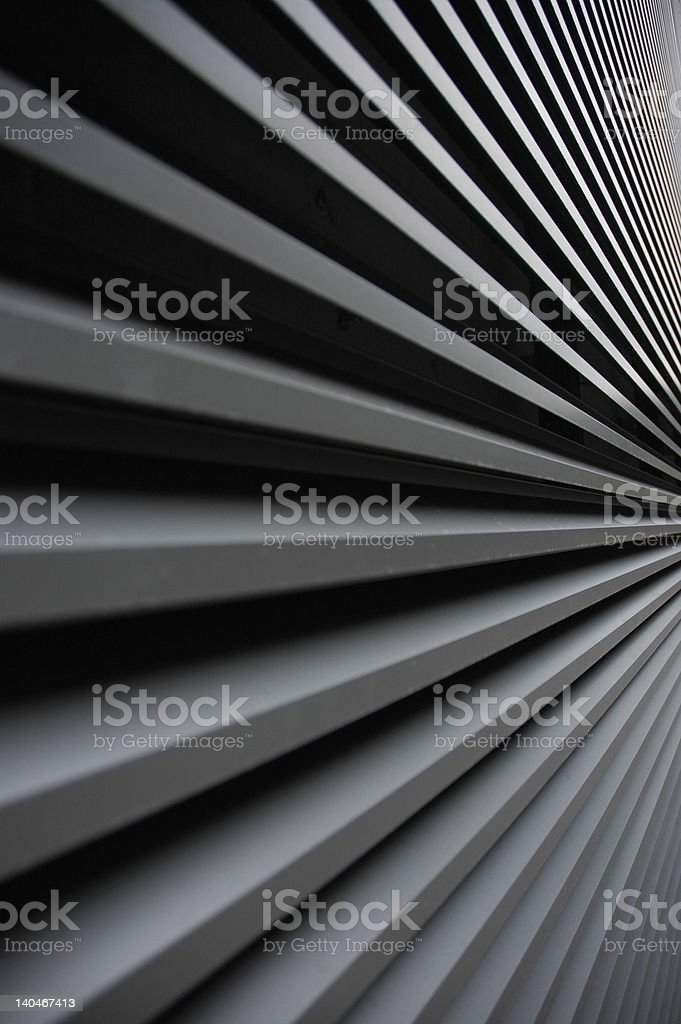 Sunblind royalty-free stock photo