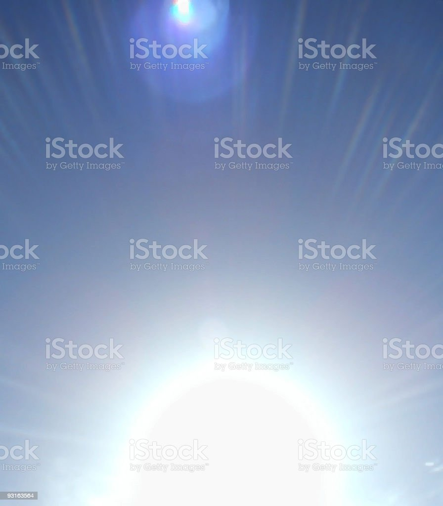 Sunburst 1 royalty-free stock photo
