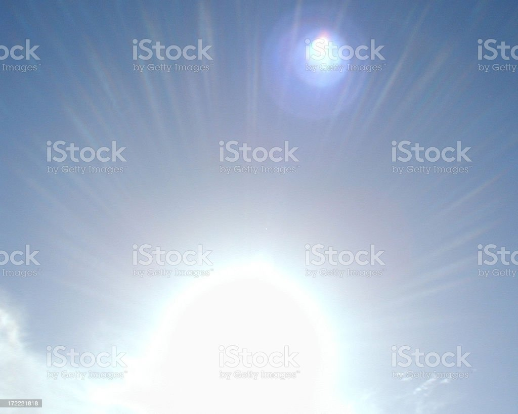 Sunburst 2 royalty-free stock photo