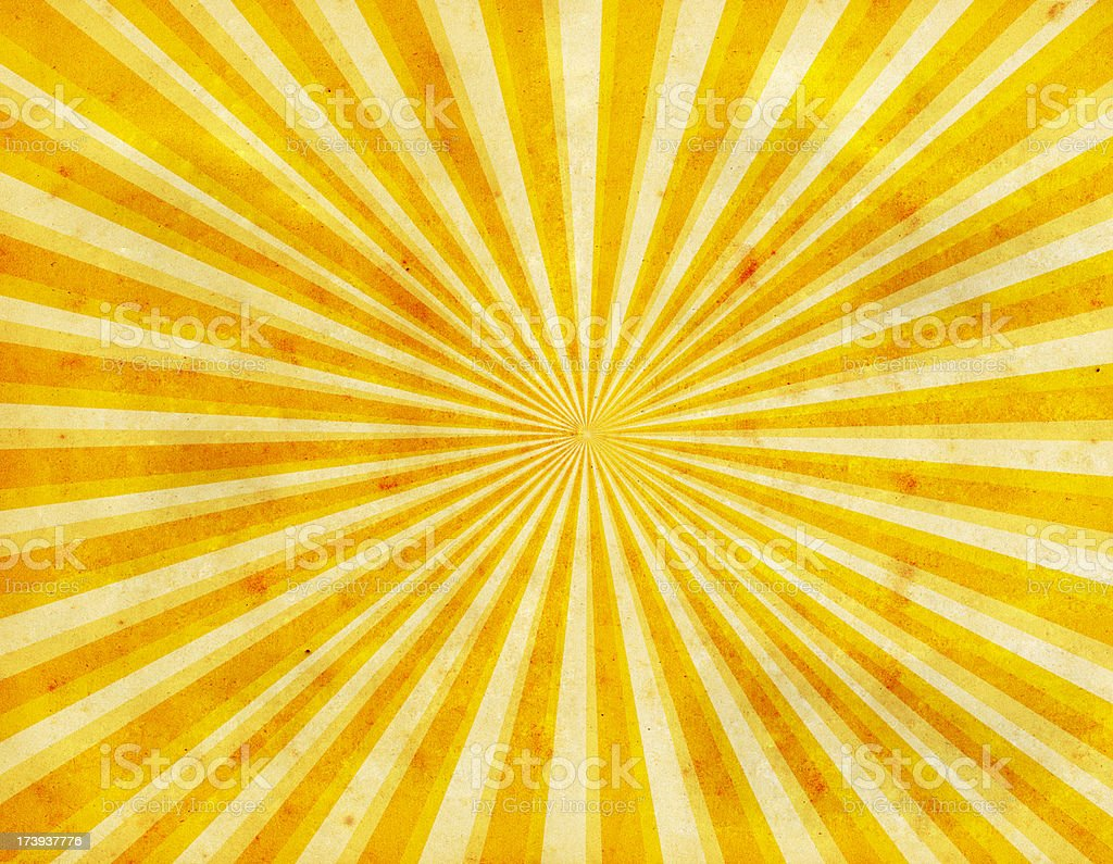Sunburst Paper royalty-free stock photo