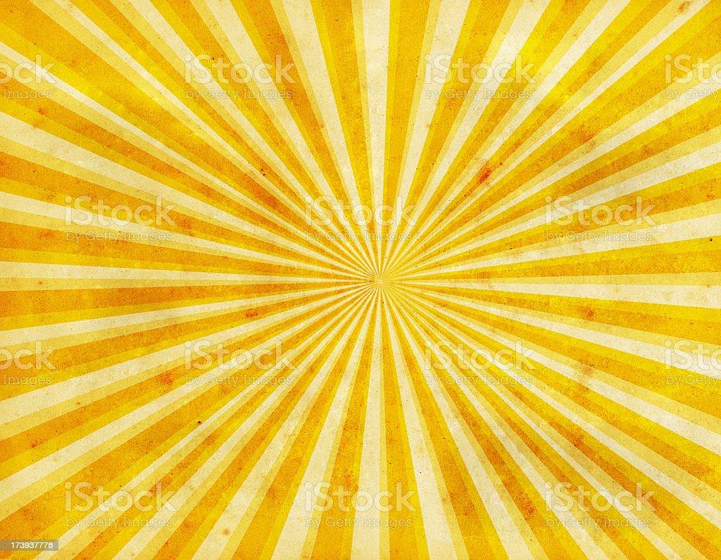 Sunburst Paper stock photo