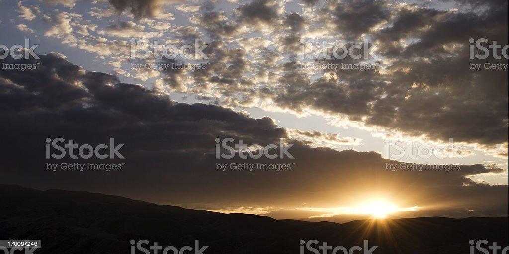 Sunburst royalty-free stock photo