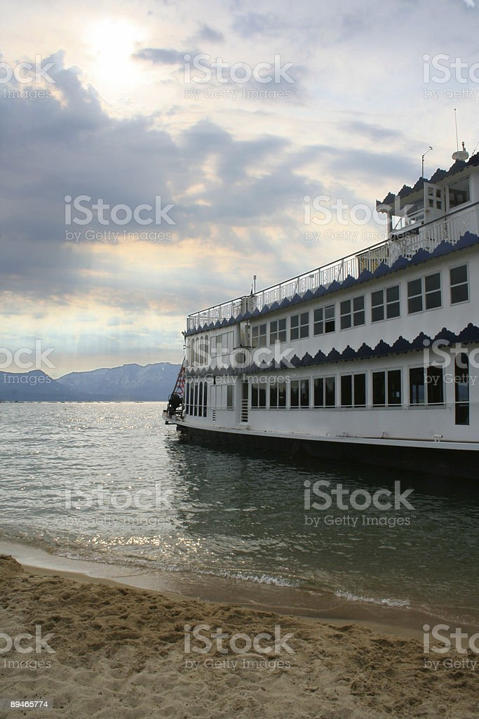 Sunburst Ship royalty-free stock photo