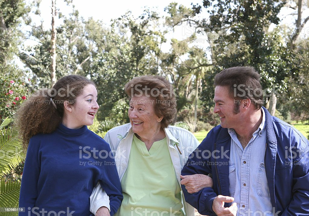 Sunday Afternoon Outing royalty-free stock photo