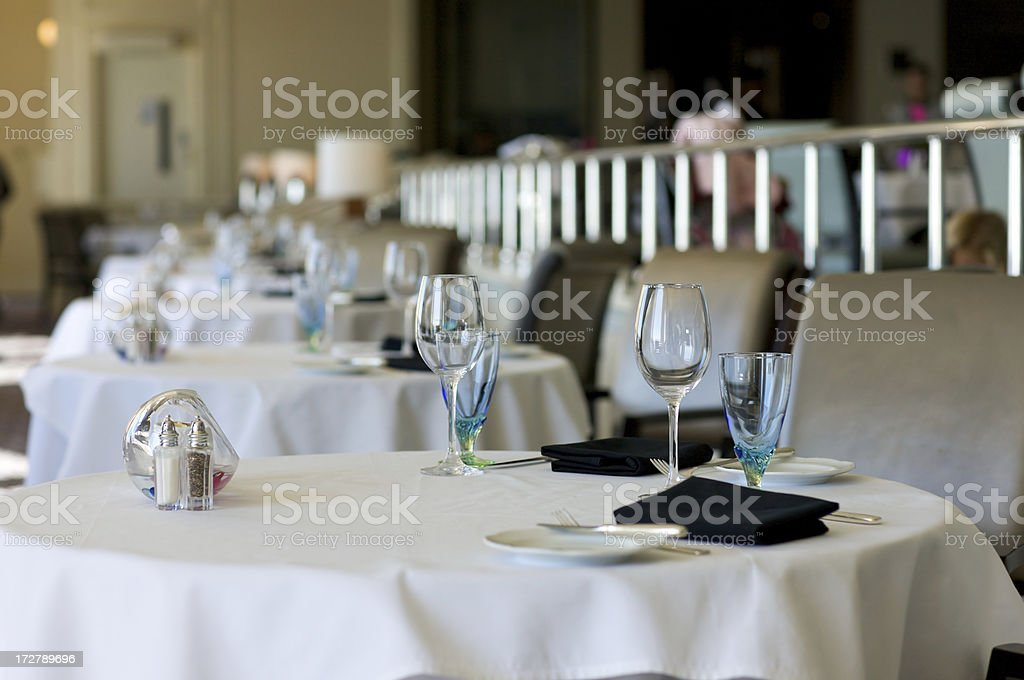 Sunday brunch table stock photo