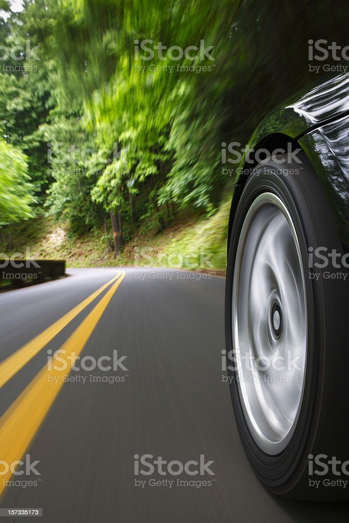 Sunday drive. royalty-free stock photo