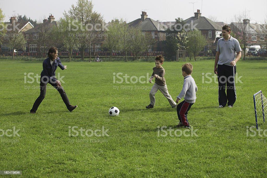 Sunday football royalty-free stock photo