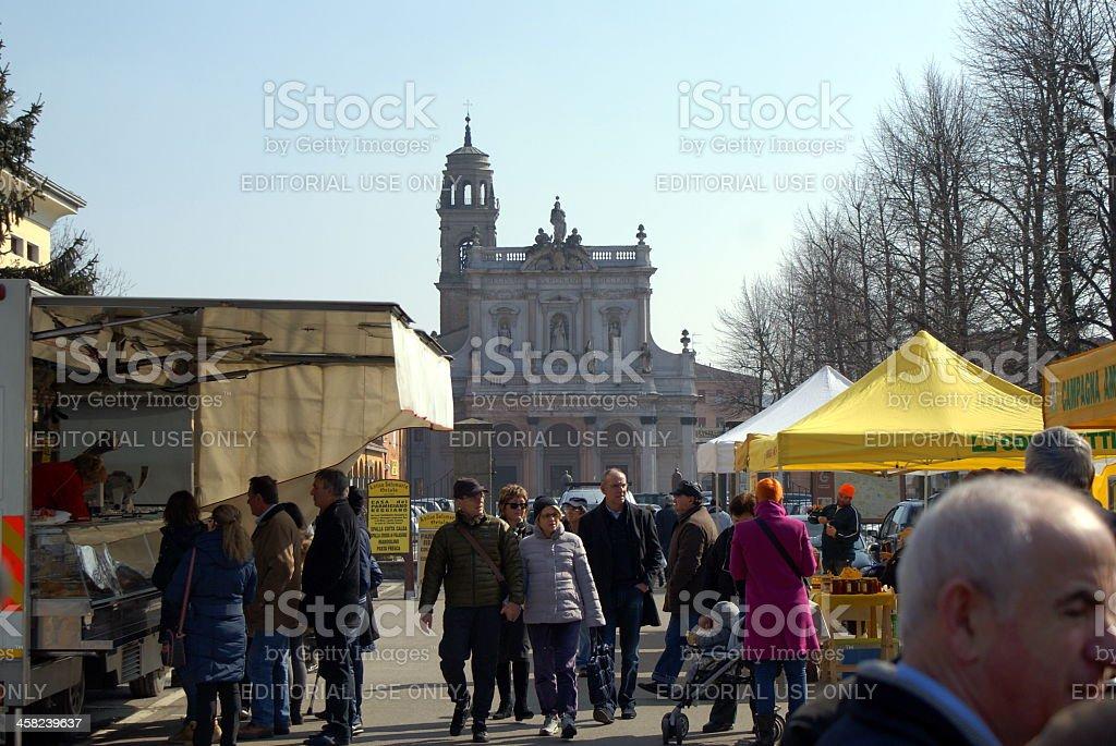 Sunday Market royalty-free stock photo