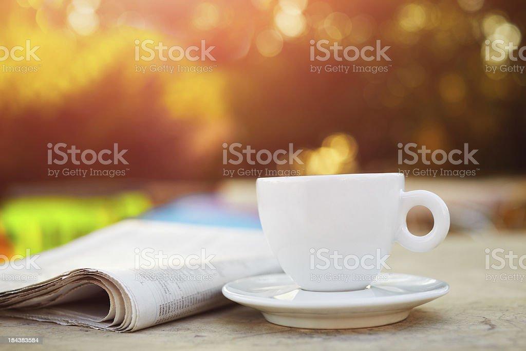 Sunday morning stock photo