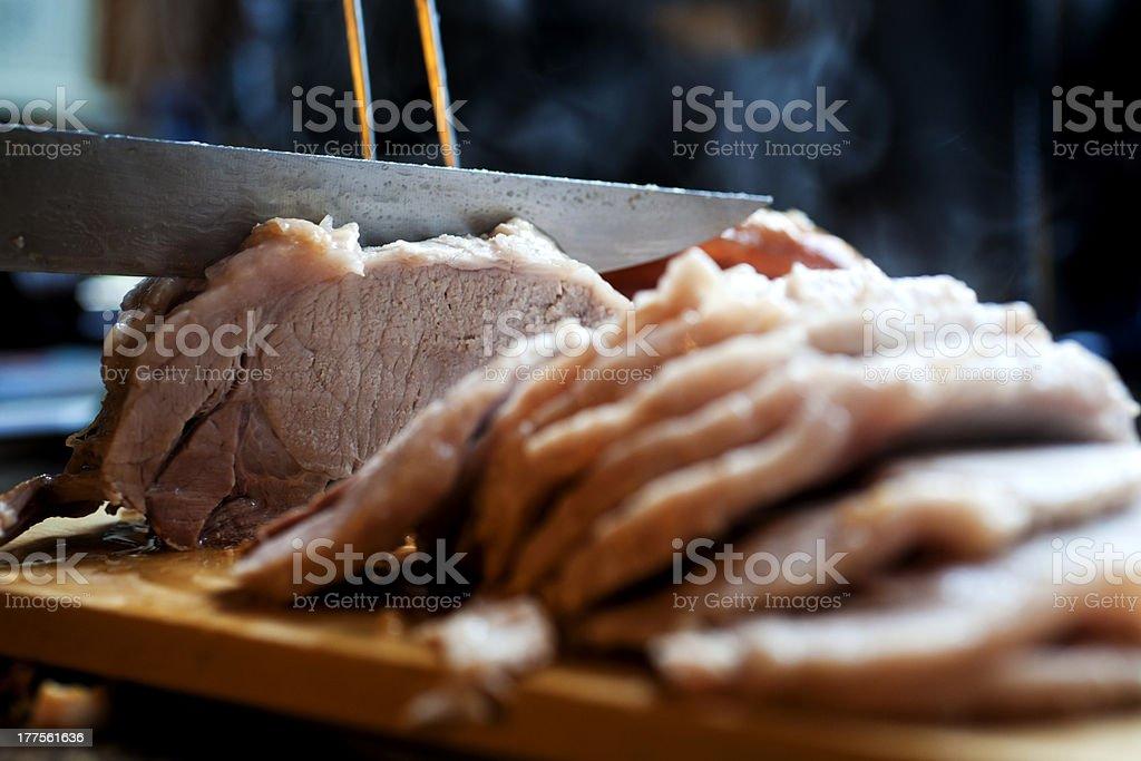 Sunday Roast stock photo