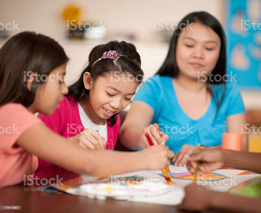 Sunday School royalty-free stock photo