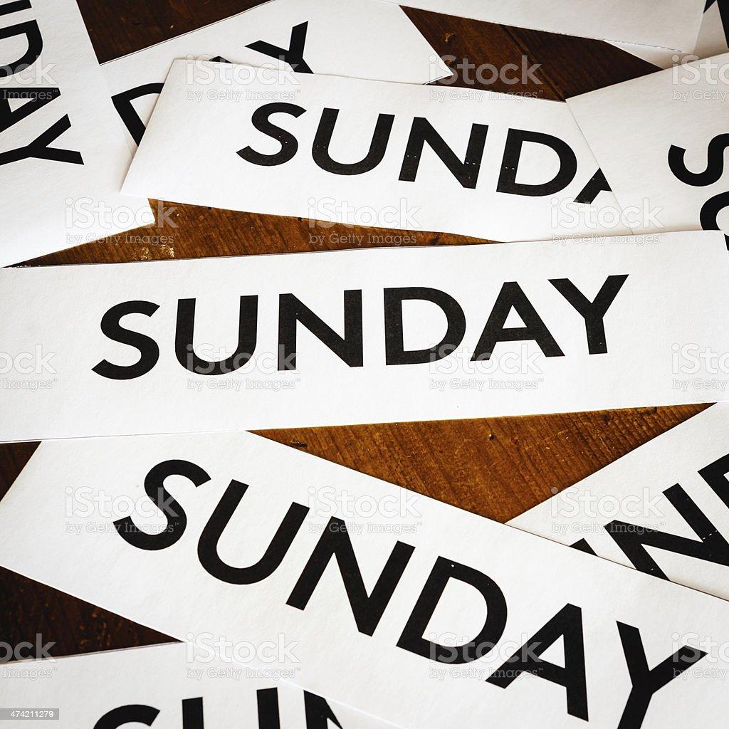 Sunday texture background royalty-free stock photo