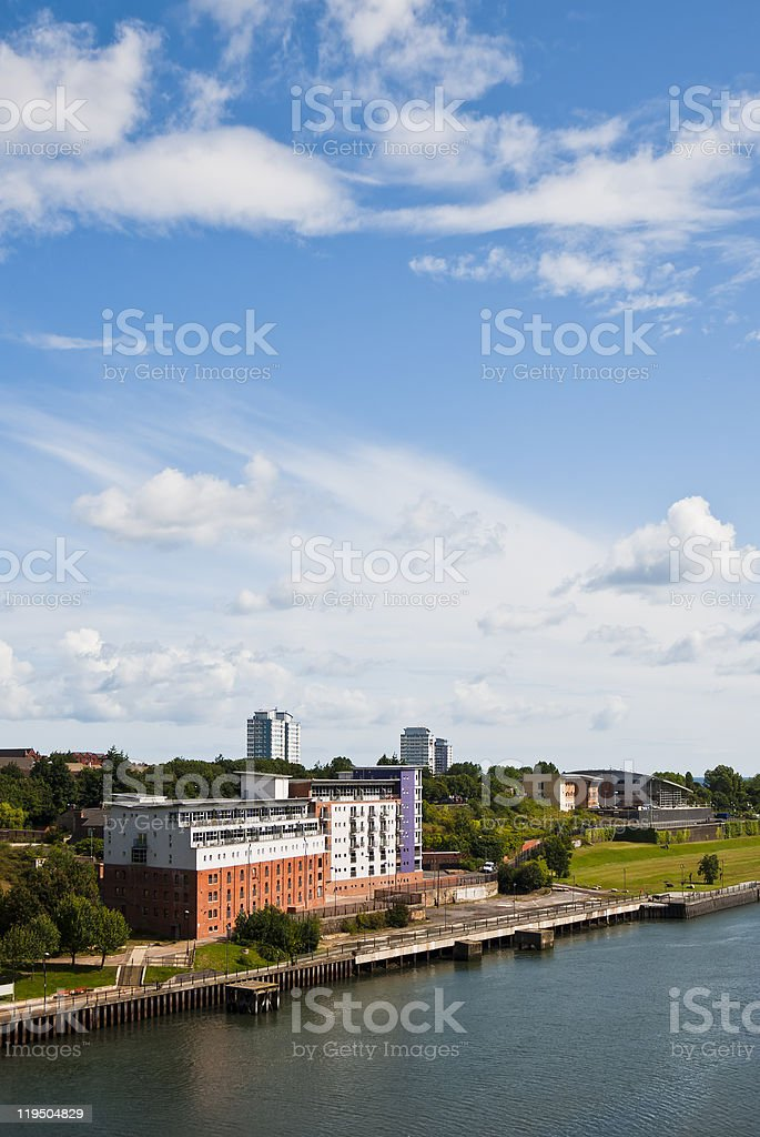 Sunderland North Shore royalty-free stock photo