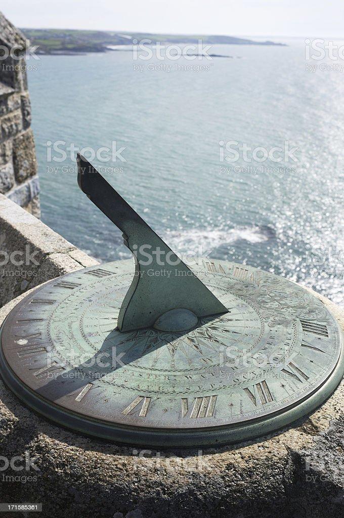 Sundial stock photo