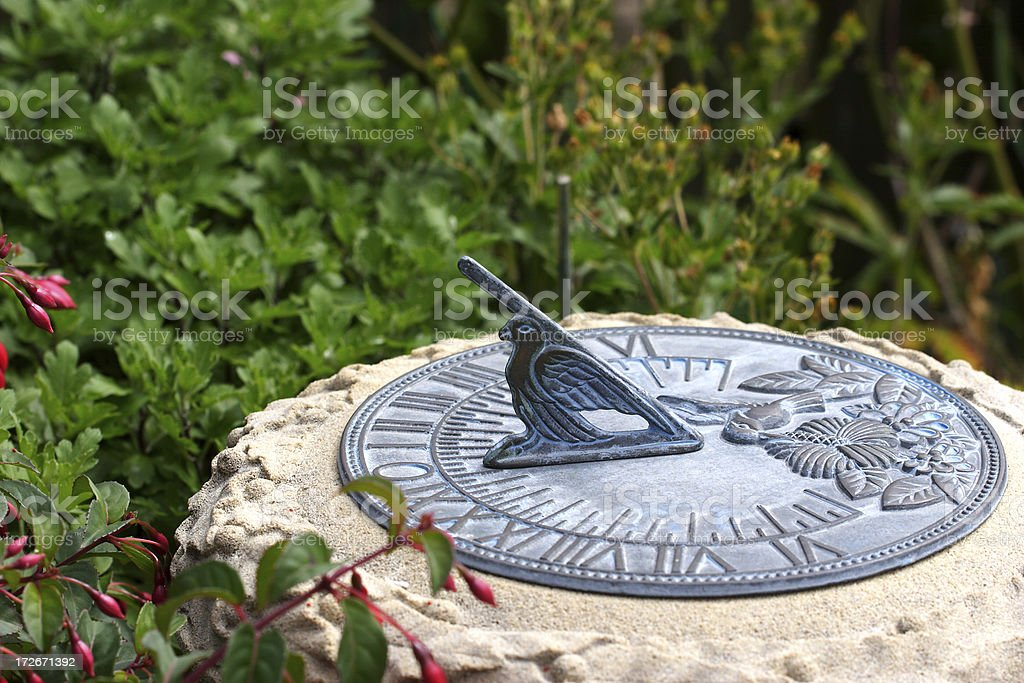 Sundial royalty-free stock photo