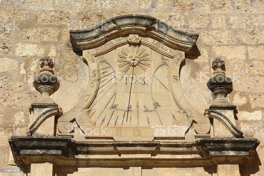 Sundial royalty-free stock photo