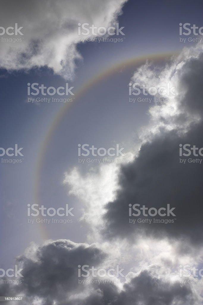 Sundog Rainbow royalty-free stock photo