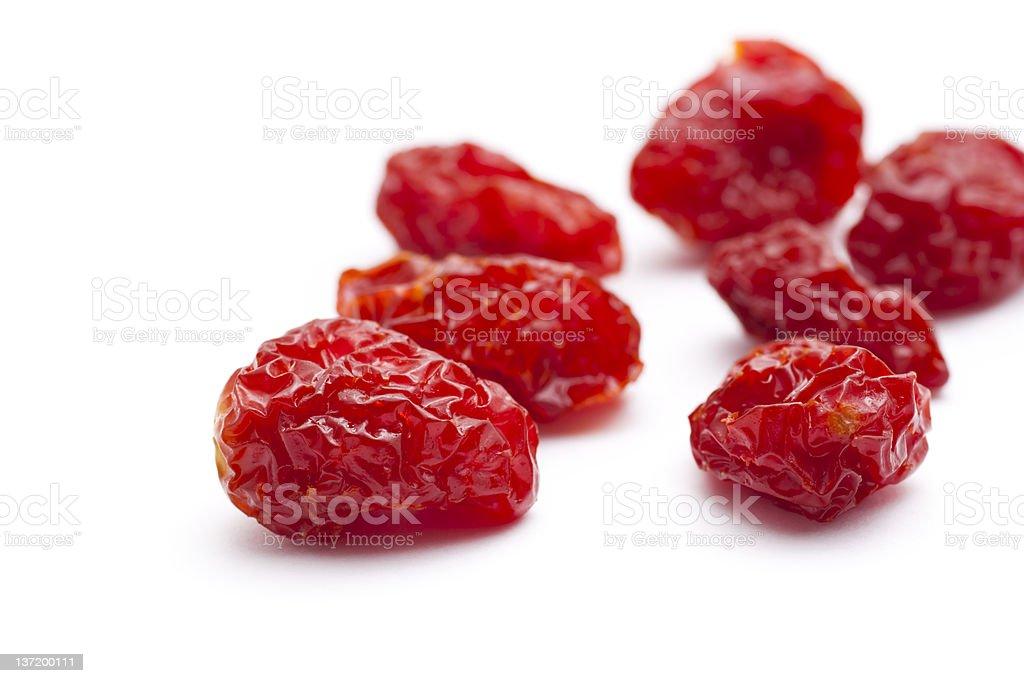 Sun-dried tomatoes stock photo