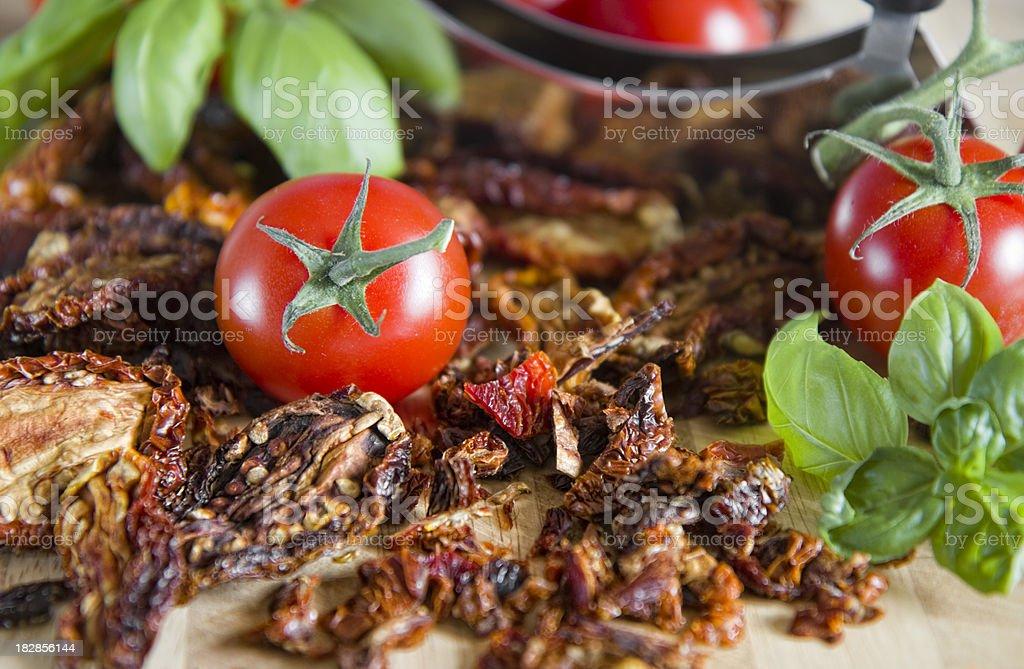 Sundried tomatoes royalty-free stock photo