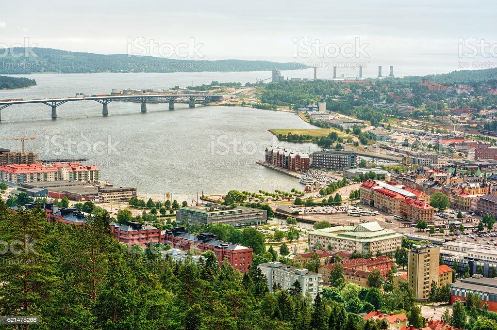 Sundsvall HDR stock photo