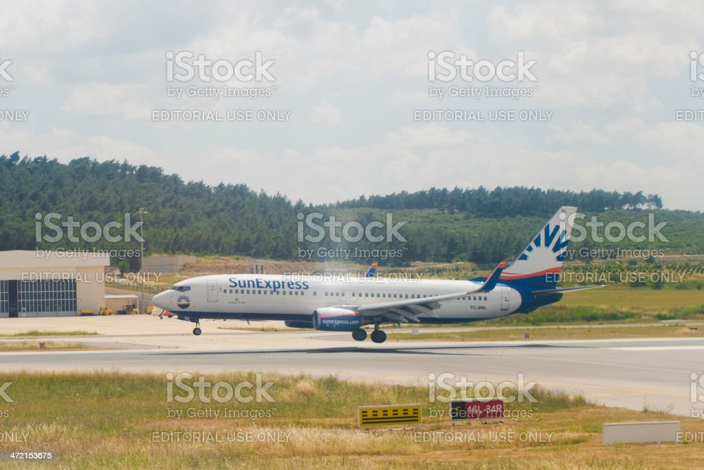 Sunexpress Airlines stock photo